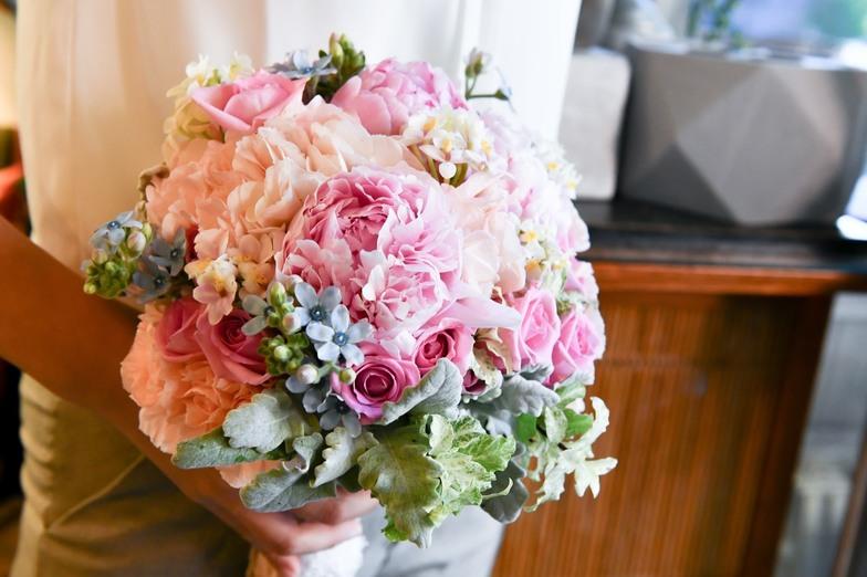 花藝、花禮裝飾-2020-08-01,花卉設計,新娘捧花(照片1)